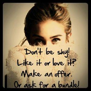 Make an offer:)